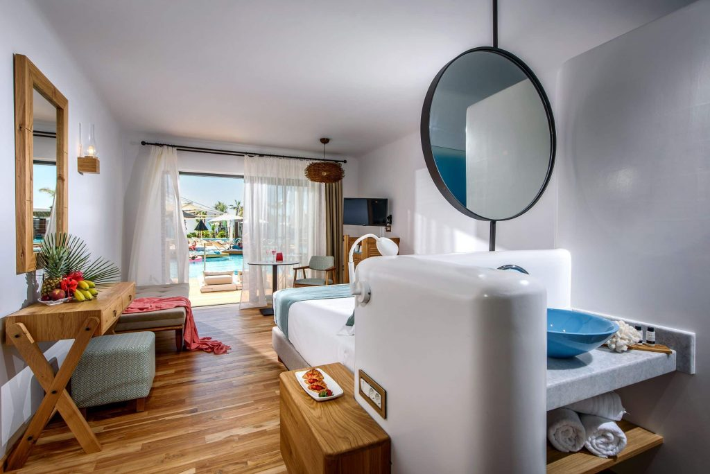 Hotelkamer van Stella Island in Analipsis, Kreta