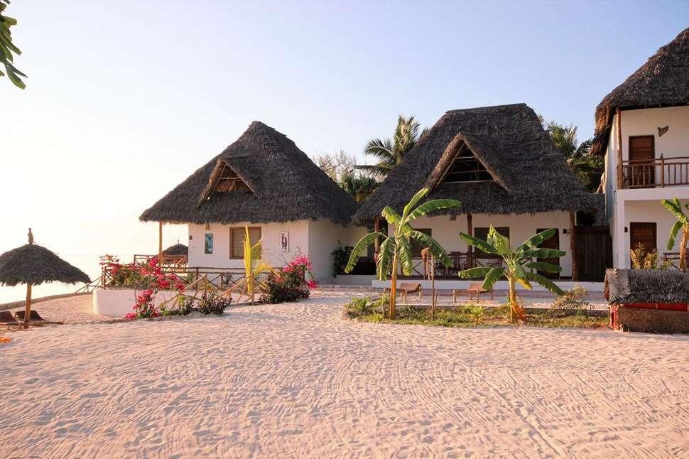 Huisje van Paradise Beach Resort in Zanzibar, Tanzania