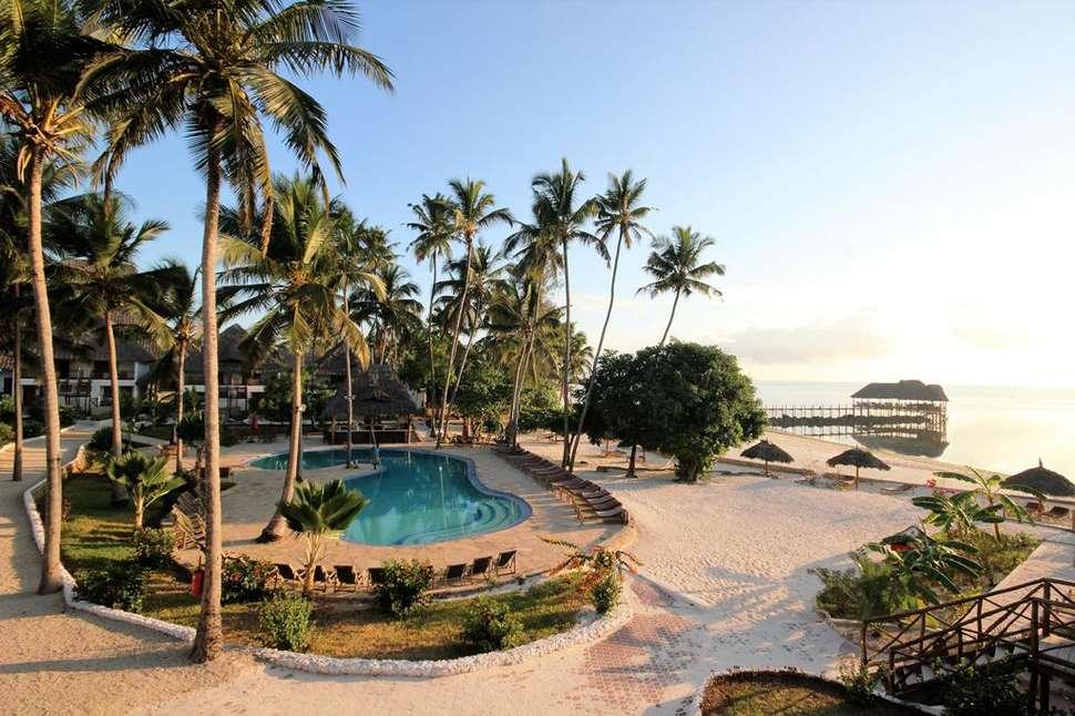 Paradise Beach Resort in Zanzibar, Tanzania