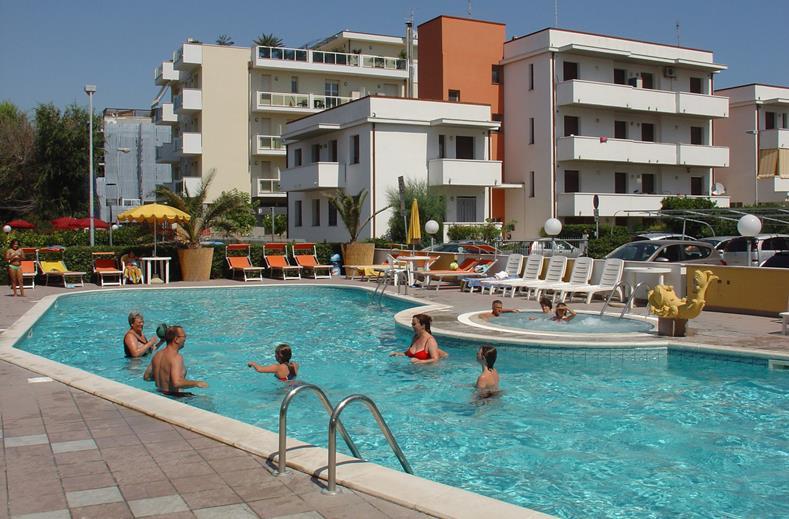 Parkhotel Serena in Rimini, Italië