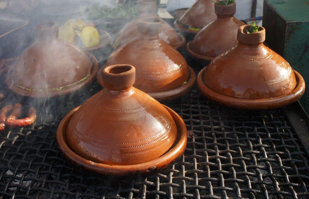 Tajine, een traditioneel Marokkaans gerecht