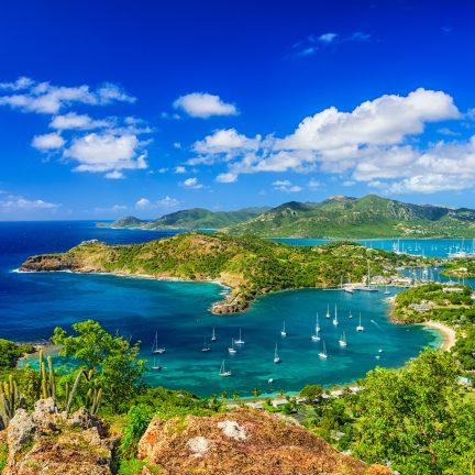 Shirley Heights Antigua in de caraiben