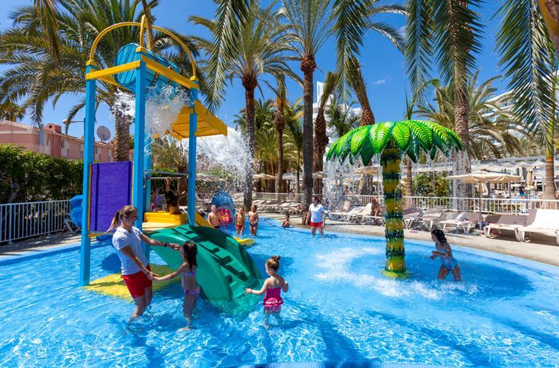 Kinderbad van ClubHotel RIU Papayas in Playa del Inglés, Gran Canaria