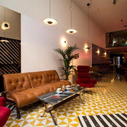 Lounge van Hotel Retrome in Barcelona, Spanje