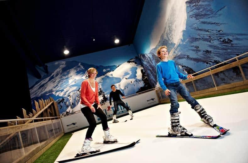 Skibaan van Lalandia Billund in Billund, Denemarken