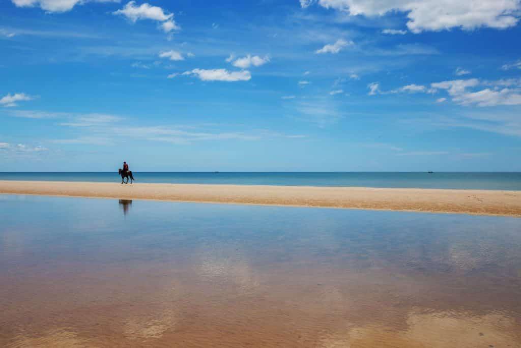 Strand bij Wora Bura Hua Hin Resort en Spa  in Hua Hin, Thailand