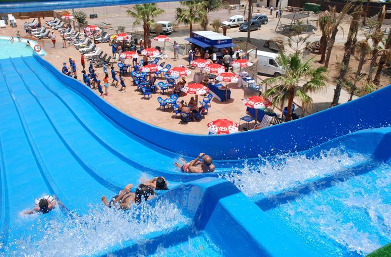 Waterpark van Bungalows Club Playa Blanca in Playa Blanca, Lanzarote