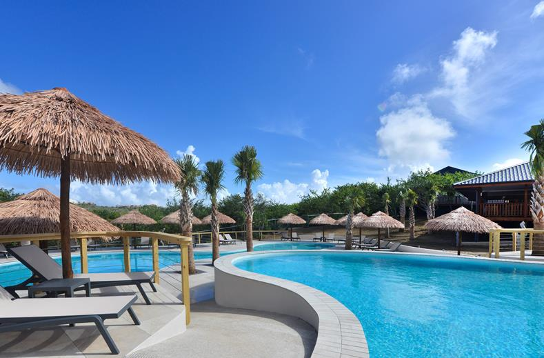 Morena Resort Appartementen & Villa's in Jan Thiel Baai, Curaçao