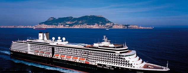 MS Koningsdam in Gibraltar