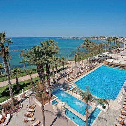 Ligging van Alexander the Great Beach in Paphos, Cyprus