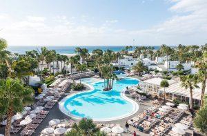 Clubhotel RIU Paraiso Lanzarote Resort in Puerto del Carmen, Spanje