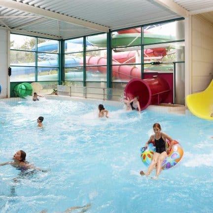 Zwembad van Vakantiepark Molenheide in Houthalen-Helchteren, België