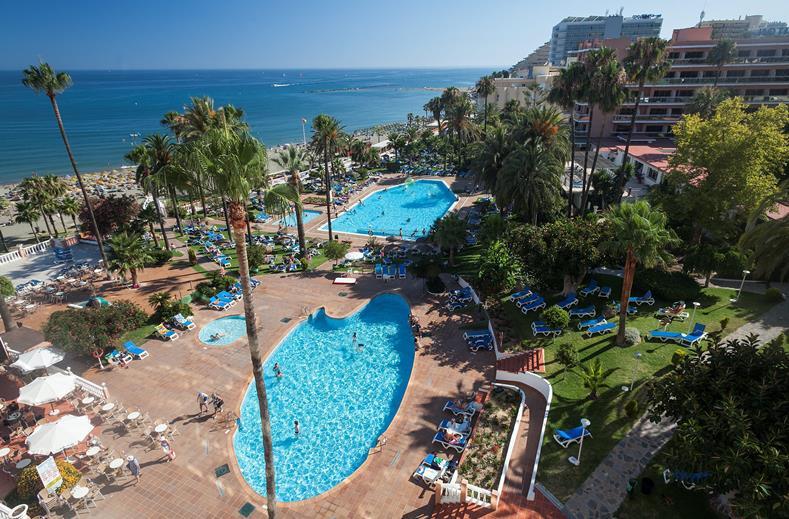 Hotel Triton in Benalmadena, Spanje