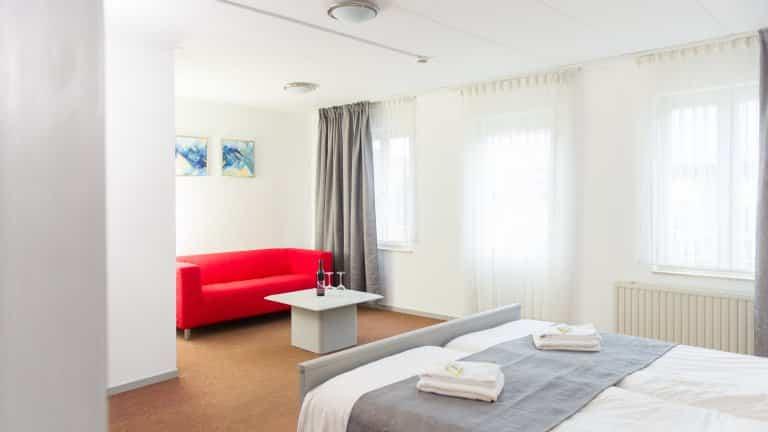 Hotelkamer van Gasterij Berg en Dal in Slenaken, Limburg