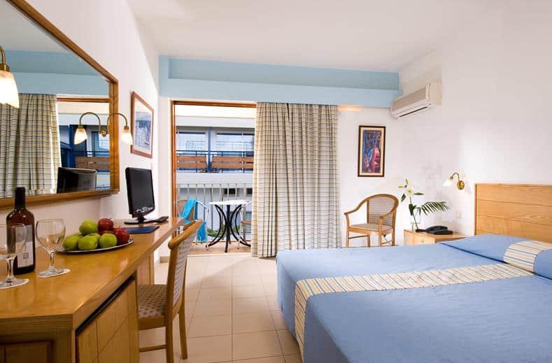 Hotelkamer van Hotel Coral in Agios Nikolaos, Kreta