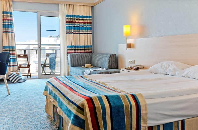 hotelkamer la blanche resort en spa in turgutreis turkije