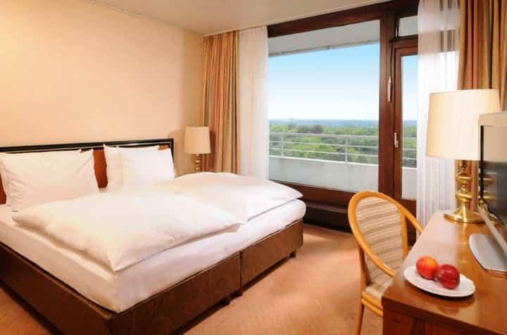 Hotelkamer van Maritim Hotel Gelsenkirchen in Gelsenkirchen, Duitsland