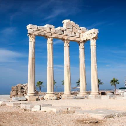 Tempel van Apollo in Side, Turkije