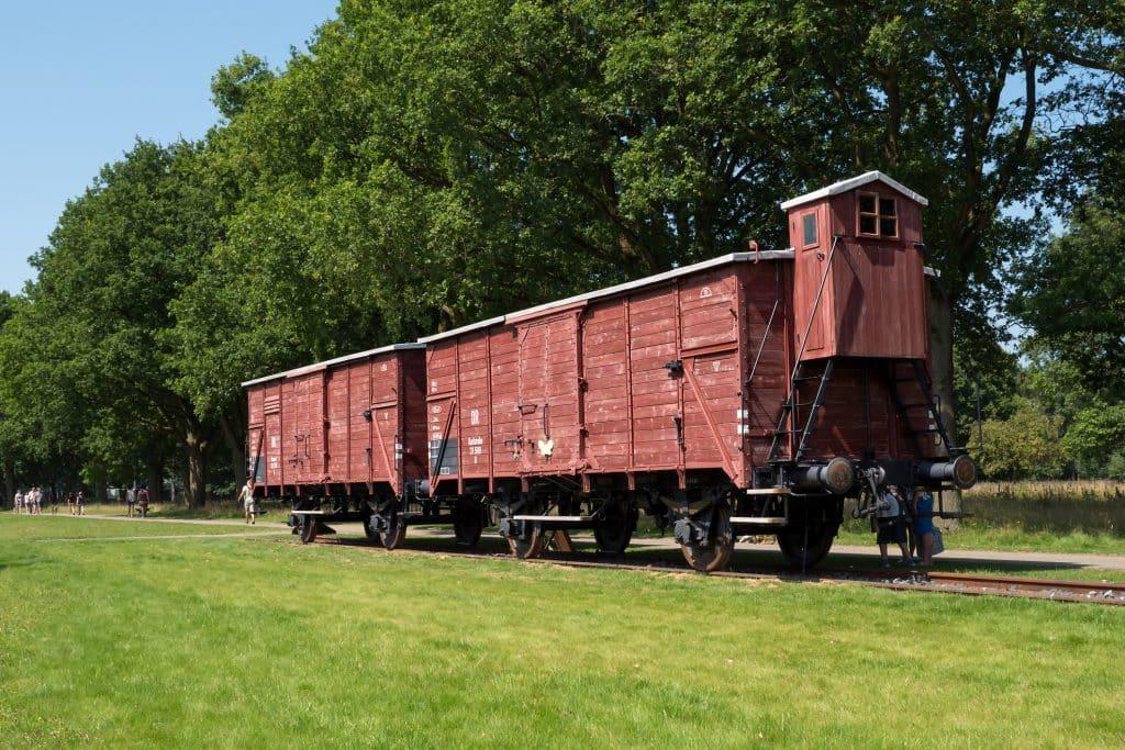 Trein in voormalig kamp Westerbork
