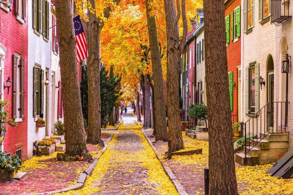 Herfst in Philadelphia