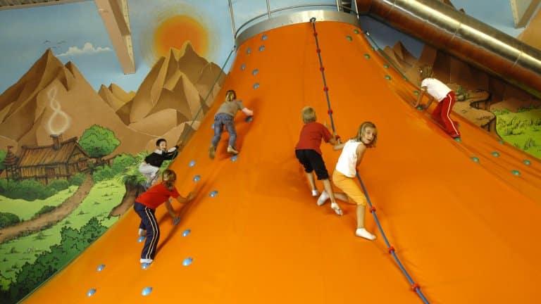 Indoorspeelparadijs van Vakantiepark Molenheide in Houthalen-Helchteren, België