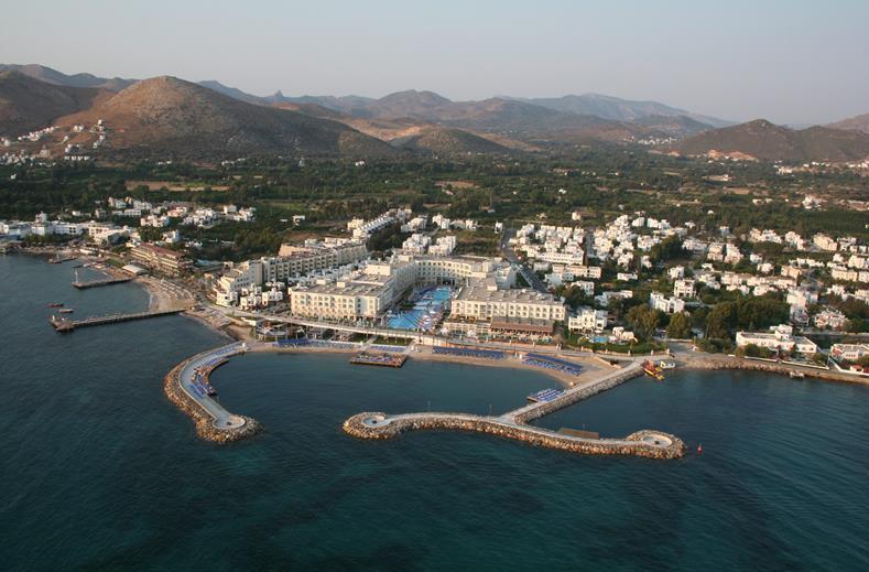La Blanche Resort en Spa in Turgutreis, Turkije
