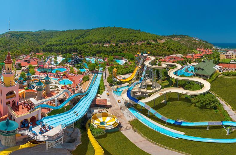 SPLASHWORLD Aqua Fantasy in Kusadasi, Turkije