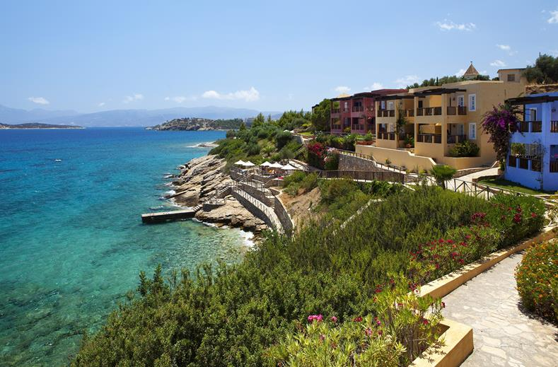 Zwembad van Aparthotel Candia Park Village in Agios Nikolaos, Kreta