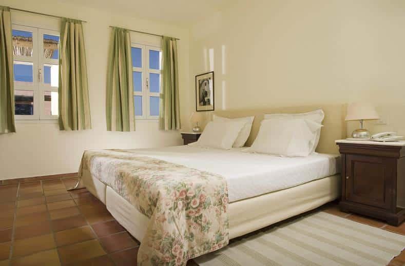Slaapkamer van Aparthotel Candia Park Village in Agios Nikolaos, Kreta