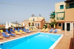 Appartementen Golden Valentin in Chersonissos, Kreta