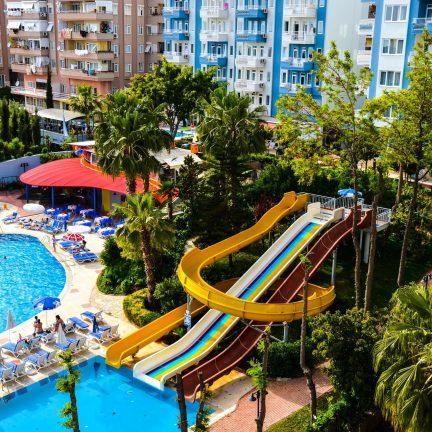 Ark apart en suite hotel in Alanya, Turkije