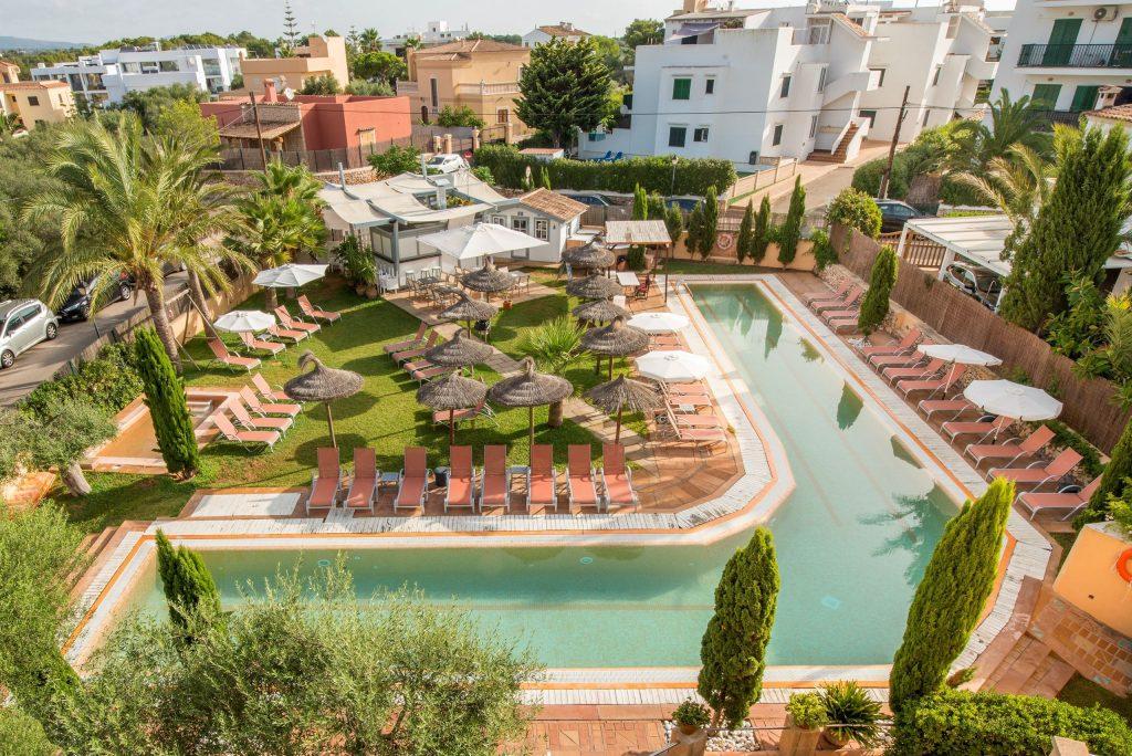 Zwembad van Bon Aire Appartementen  in Cala d'Or, Mallorca