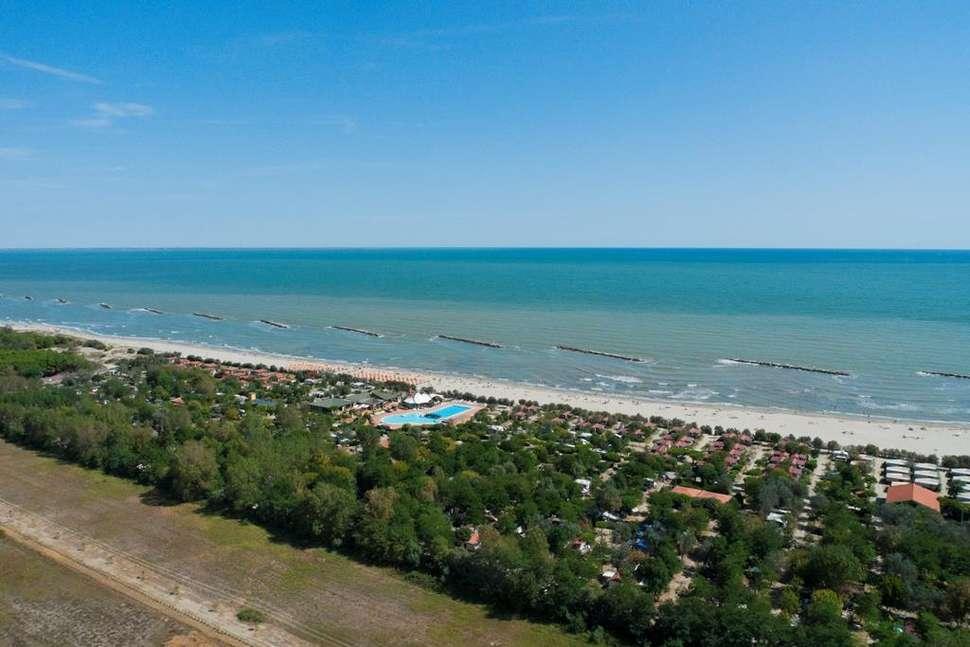 Camping Spiaggia e Mare in  Lido di Scacchi, Italië
