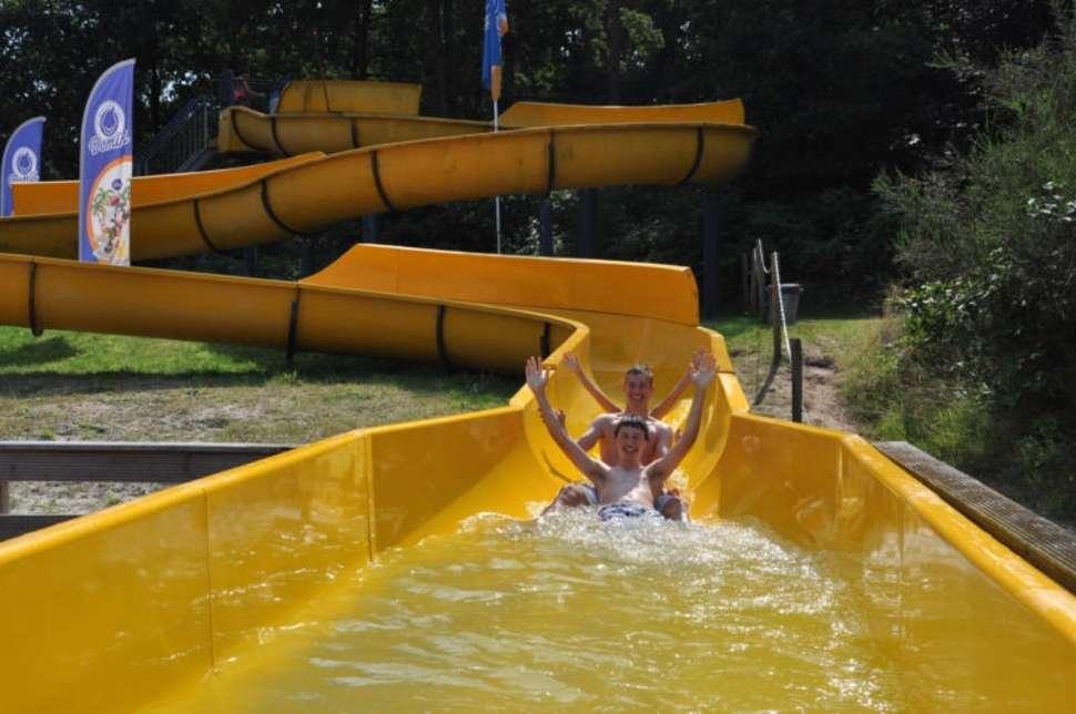 Glijbaan zwemplas in Drenthe