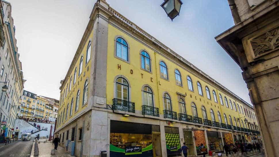 Hotel Americano Inn Rossio in Lissabon, Portugal