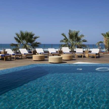 Zwembad van Hotel Aquila Porto Rethymnon in Rethymnon, Kreta