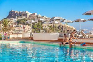 Hotel Pedraladda in Castelsardo, Sardinië