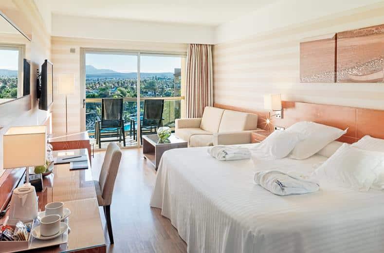 Hotelkamer van Barceló Fuerteventura Thalasso Spa in Caleta de Fuste, Fuerteventura