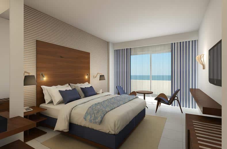 Hotelkamer van Hotel Aquila Porto Rethymnon in Rethymnon, Kreta