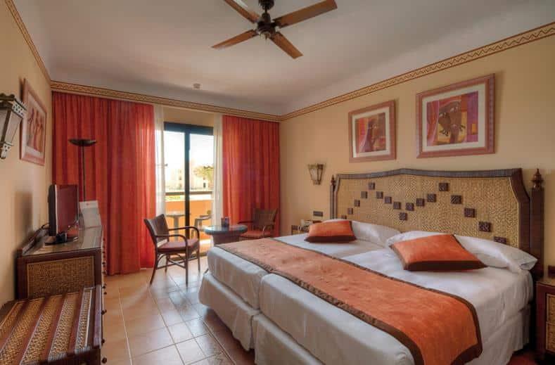 Hotelkamer van RIU Touareg in Boa Vista, Kaapverdië