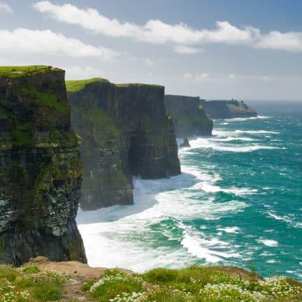 Cliffs of Moher of kliffen van Moher in Ierland
