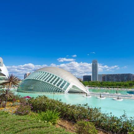 Stad van Kunst en wetenschap in Valencia, Spanje