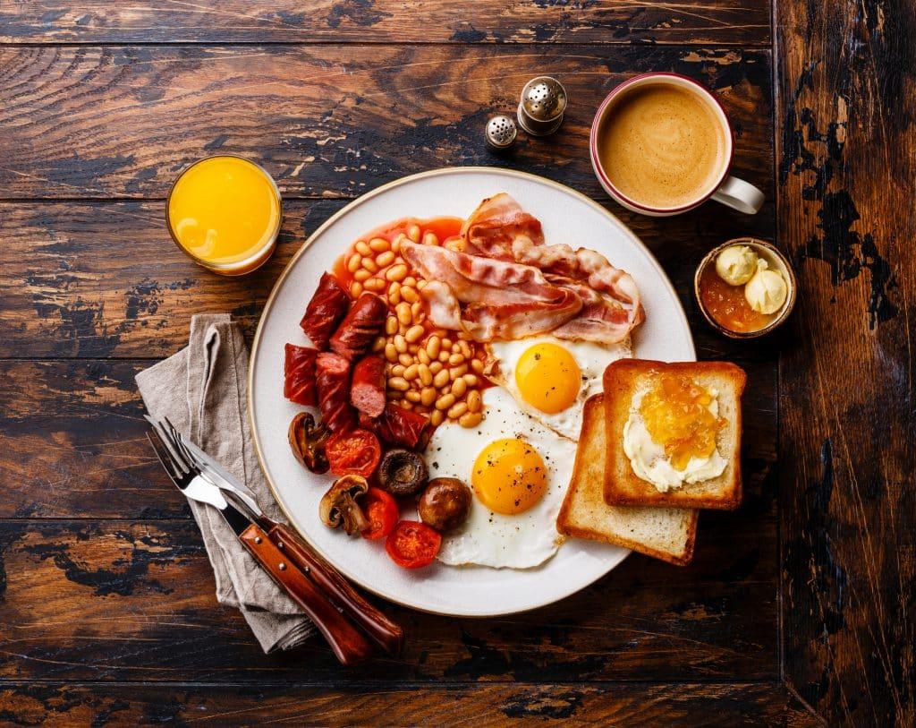 Full Irish Breakfast, Iers ontbijt in Ierland