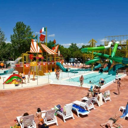 Kinderbad van Camping Spiaggia e Mare in Lido di Scacchi, Italië