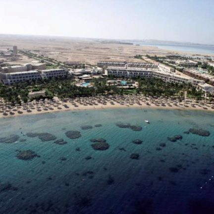 Ligging van Fort Arabesque Resort, spa en villas in hurghada, Egypte