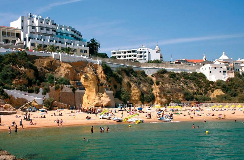 Hotel Rocamar Excusive en Spa in Albufeira, portugal