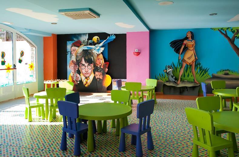 Miniclub van van Hotel Elba Sara in Caleta de Fuste, Fuerteventura