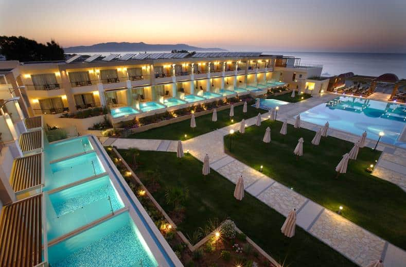 Minoa Palace Resort en Spa in Platanias, Kreta