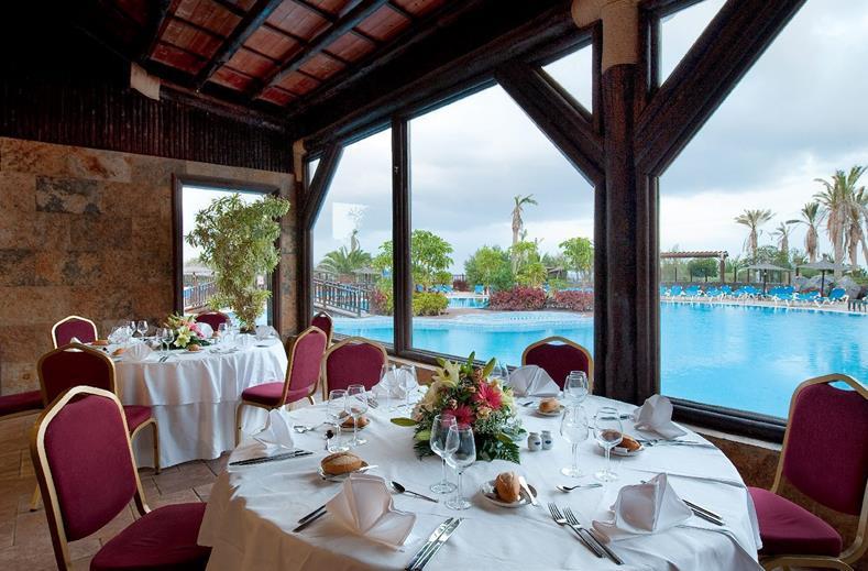 Restaurant van Hotel Elba Sara in Caleta de Fuste, Fuerteventura