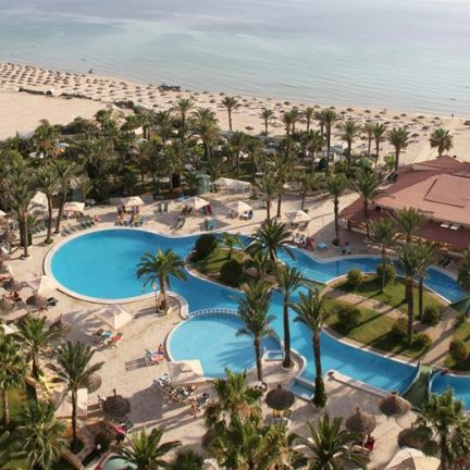 Riadh Palms in Sousse, Tunesië